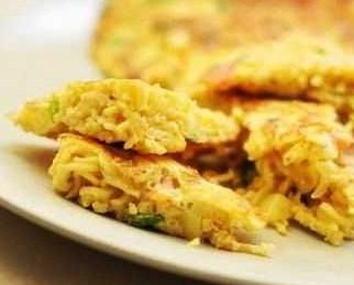 Omelet Mie Keju
